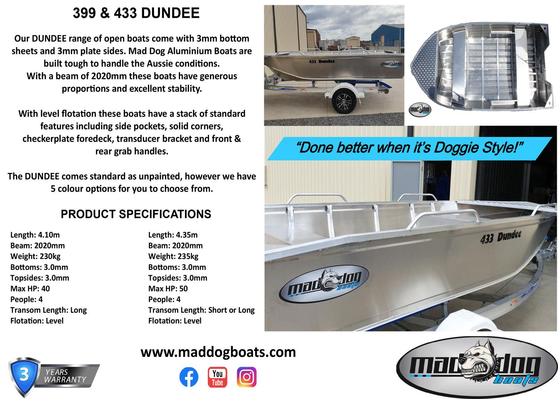 Mad dog Dundee range