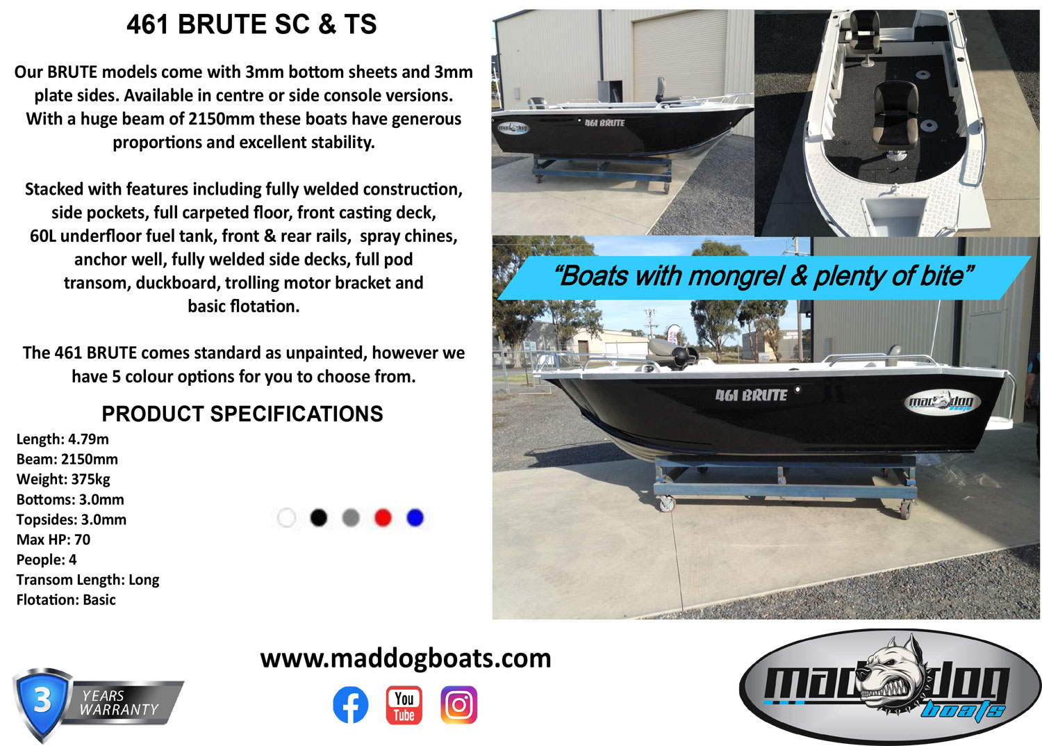 Mad dog brute range
